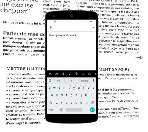 Adding support for rich text in Eventyay Organizer App