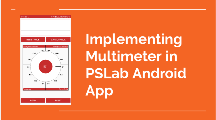 Implementing Multimeter in PSLab Android App