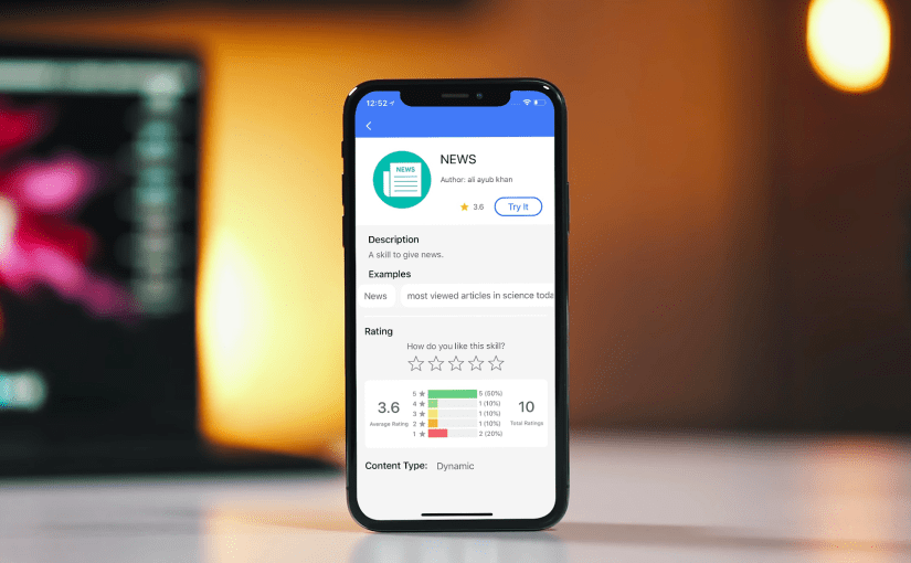 Implementing Five Star Rating UI in SUSI iOS