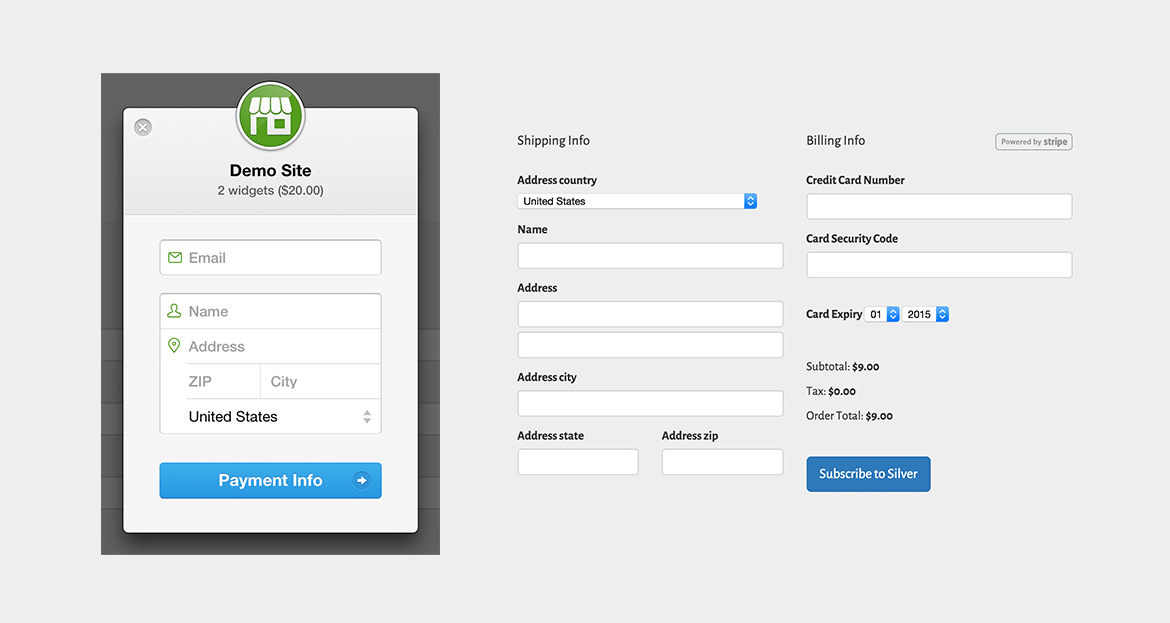 Adding Online Payment Support in Online Event Frontend via Stripe