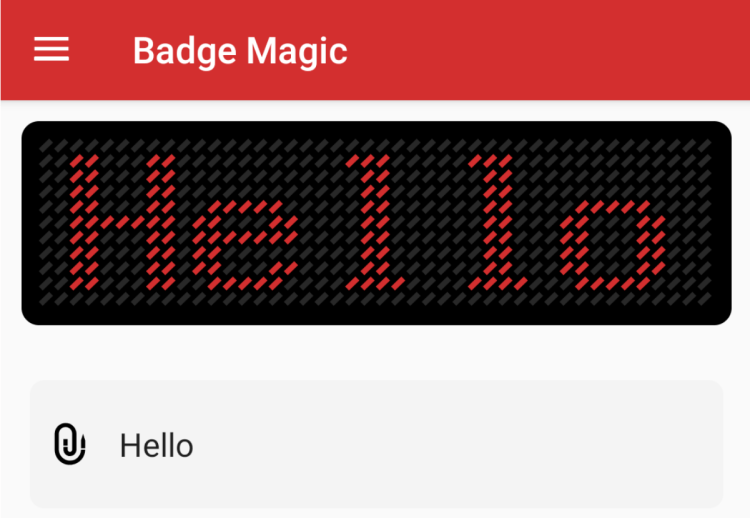 Making an About Section for Badge Magic Android App
