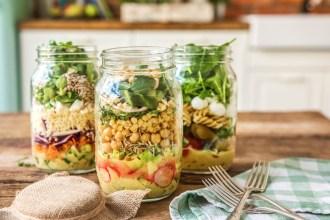 Pique-nique improvisé : la salade à emporter !