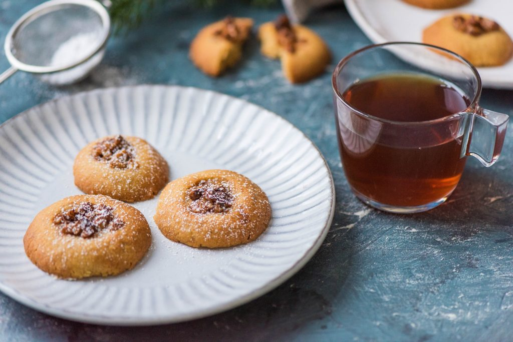 Biscuits orange et noix
