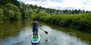 Nicht vergessen: Auch die Altmühl fließt durch's Fränkische Seenland