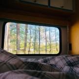 Camping-Aussicht-Schlafen