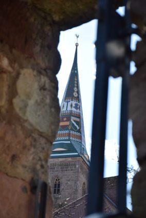 Kirchturm von Wolframs-Eschenbach