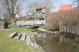 Kneippanlage auf dem Ritterspielplatz in Wolframs-Eschenbach