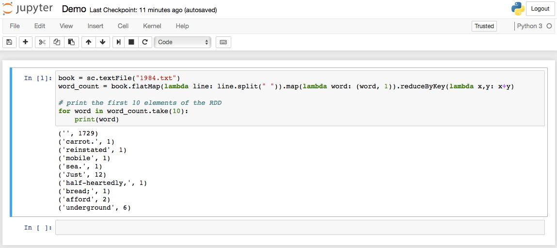 PySpark -> Python + Spark = ❤️🐍 – Francesco Servida's Blog