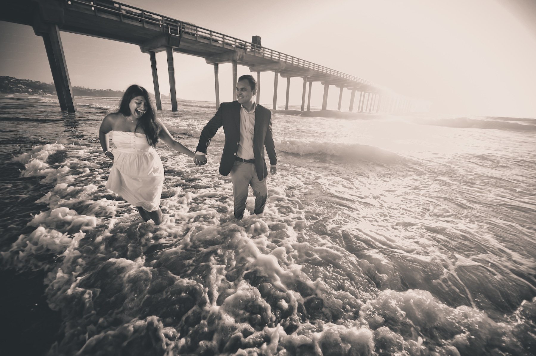 November Beach Wedding