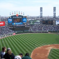White Sox opening day from the upper deck