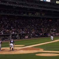 White Sox playing the Yankees