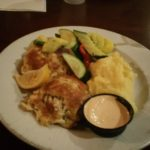 Fresh crab cakes at Waterman;s in Virginia Beach