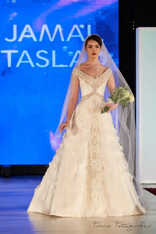Jamal Taslaq Couture, Roma, Budapest Fashion Week, 2016