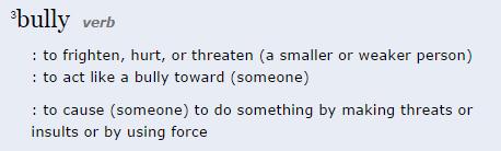 bully_definition