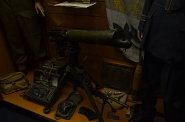 Mitrailleuse Vickers Mk I calibre .303 (7,7 mm) refroidie par eau