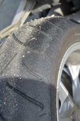 Le pneu martyrisé par le roulage