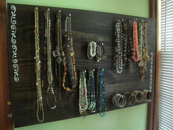step191 Wednes DIY: Jewelry Board