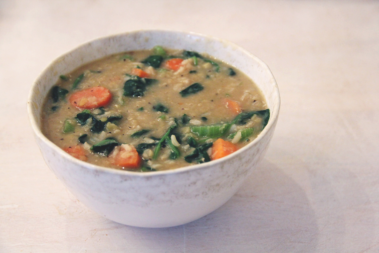 Post image for Recipe: Healthy & Hearty Red Lentil Soup