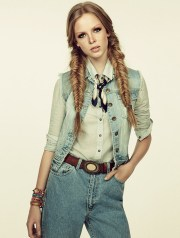 hairstyle love cowgirl braids