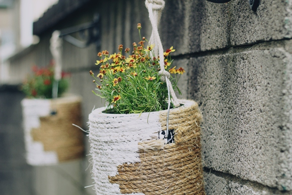Post image for DIY Paint Can Planters