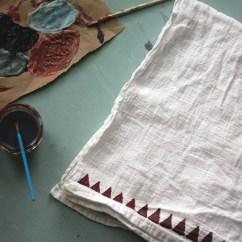 Kitchen Towels Stools Target Diy Painted 2