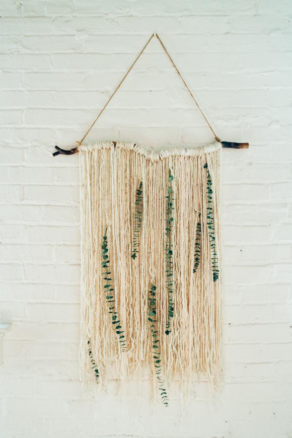 Post image for Make: Eucalyptus Wall Hanging