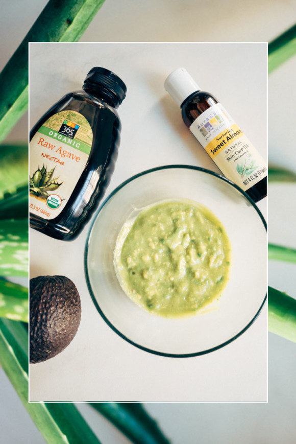 Post image for Agave + Aloe Face Mask