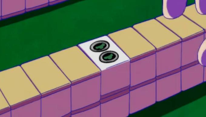 麻雀牌のピンズが松