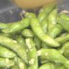 簡単おいしい「ニンニク枝豆」!