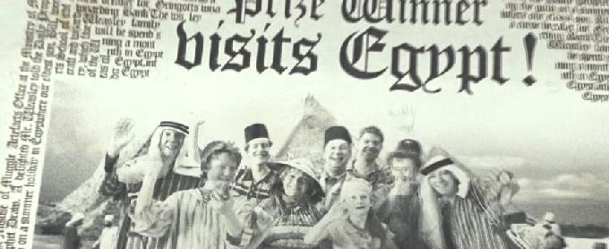ウィーズリー一家の旅行が新聞にのる