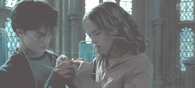 ハリーとハーマイオニー