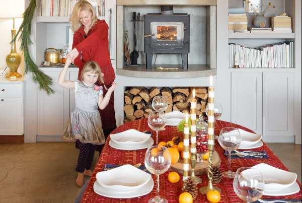 kitchen, christmas, kids, madrid