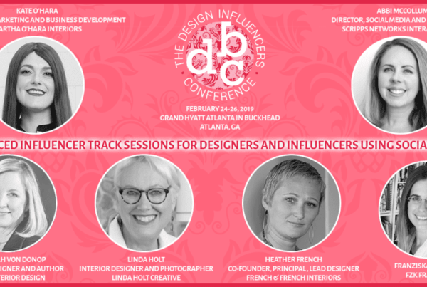 Design Conference influencers list