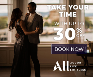 Save up to 30% for stays at Accor Hotels in the Americas