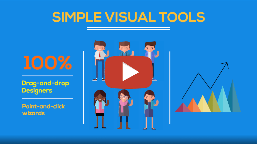Simple visual tools for business process automation