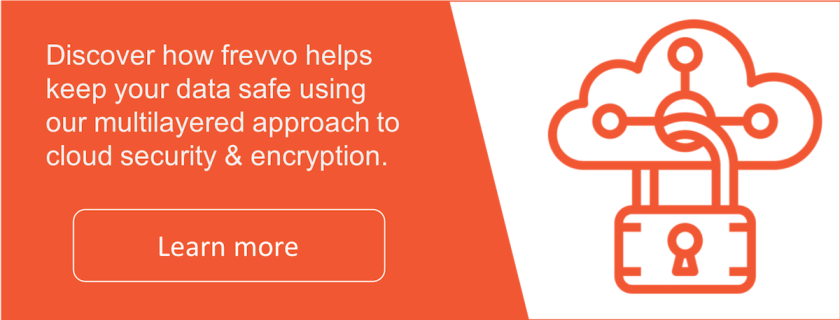frevvo keeps your data safe and secure.