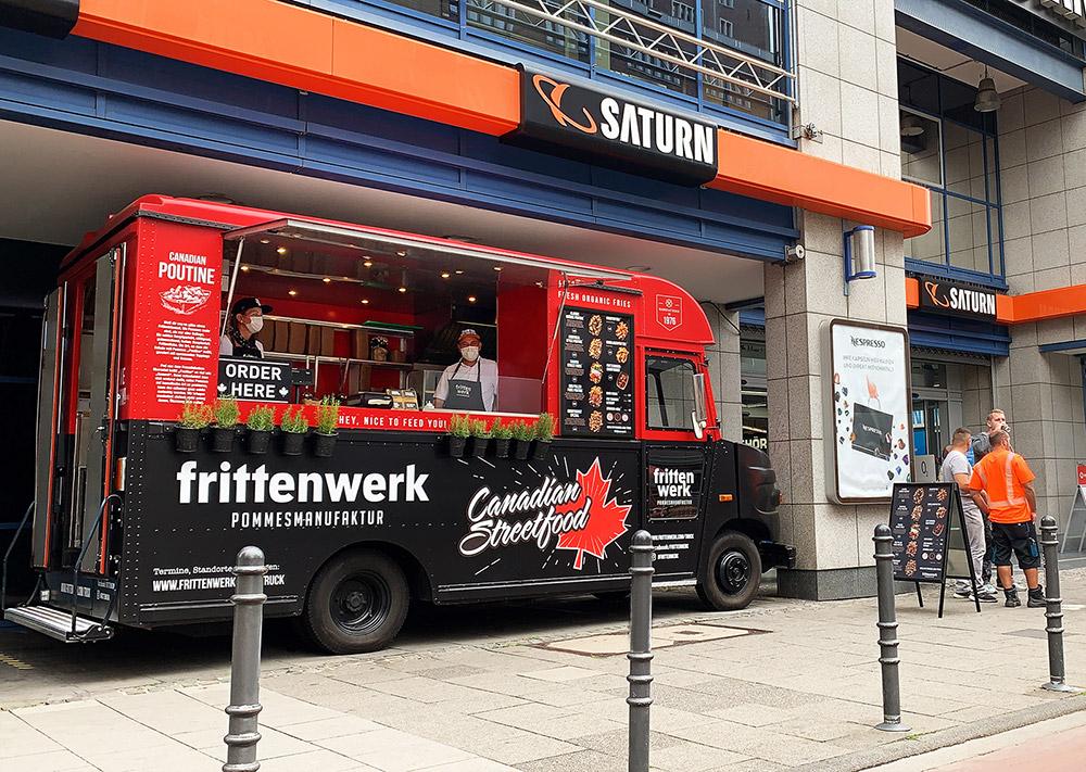 Frittenwerk-Truck erobert Hansaring