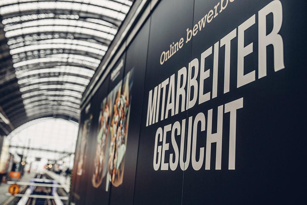 Frittenzeit im Frankfurter Hbf