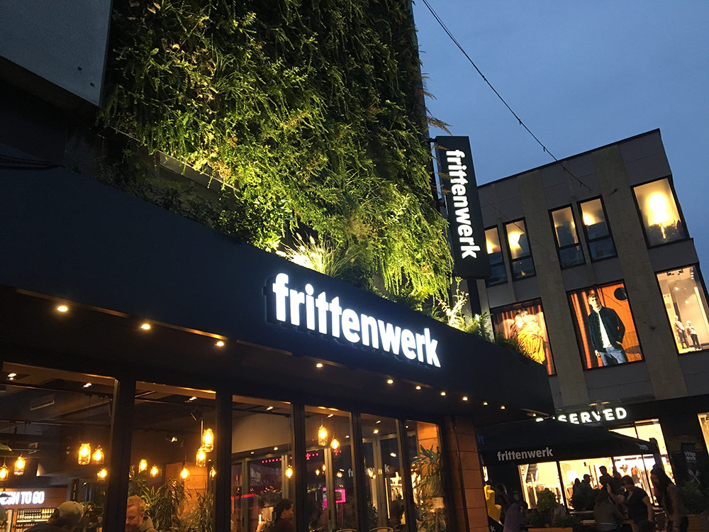 Green Wall Frittenwerk Essen