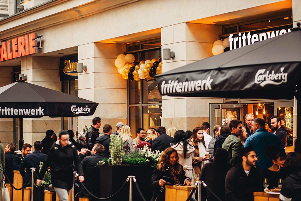 Eröffnung Frittenwerk Dortmund