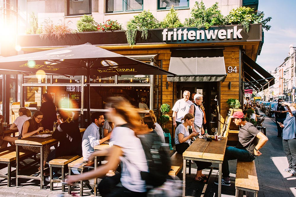 Frittenwerk Köln Eröffnung