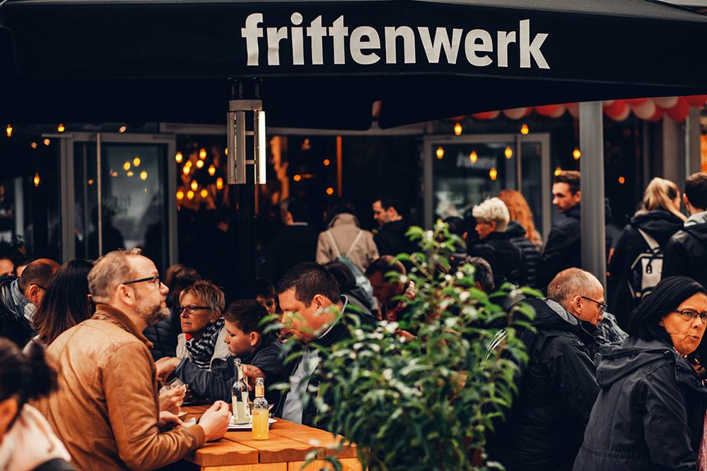 Frittenwerk Eröffnung in Wolfsburg