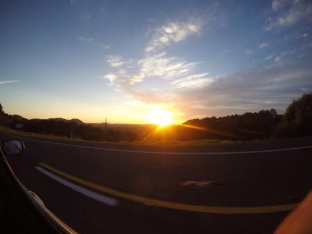 Sur la State Highway 1 en direction du Cap