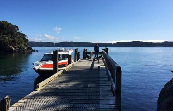 Dock de Ulva Island