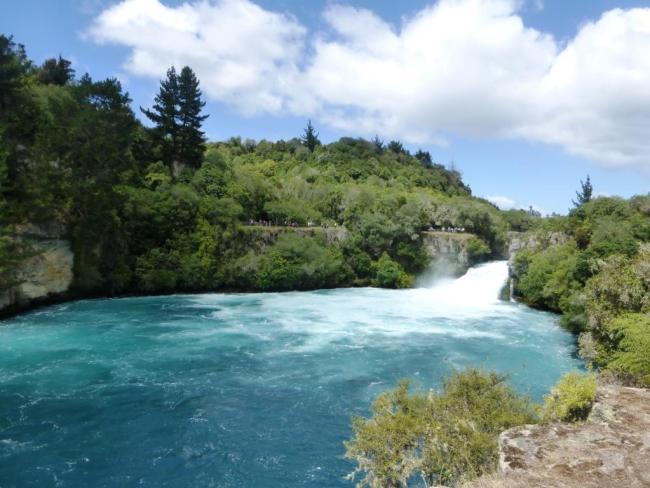 Huka Falls à Taupo Nouvelle Zelande