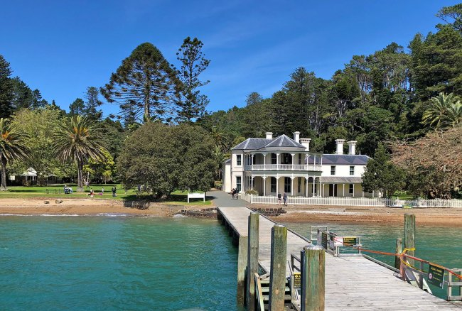 Mansion House Kawau Island