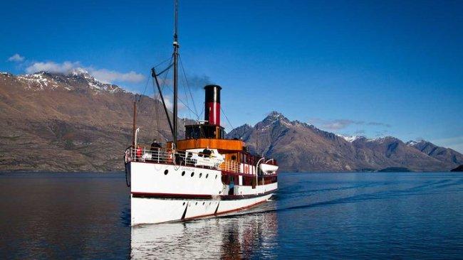 Le bateau à vapeur TSS Earnslaw