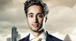 Apprentice finalist Solomon Akhtar - certainly no ugly duckling...