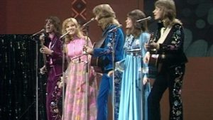 Back in the 1970s most entrants simply wore curtains.