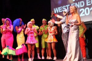 Far better than the actual Eurovision, from 2008 we kept our West End talent here...